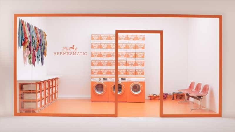 temporary store HermesMatic Italia