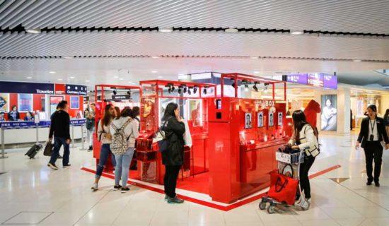 Armani Cosmetics: un pop-up store all'Aeroporto Internazionale di Hong Kong