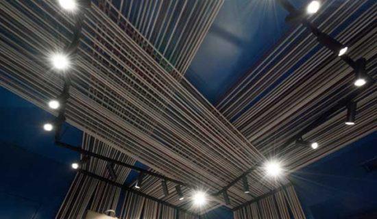 BUZZI & BUZZI illumina la nuova boutique Masel.