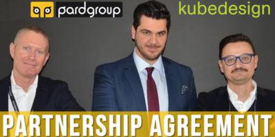 Nuova partnership per Pardgroup: Kubedesign.
