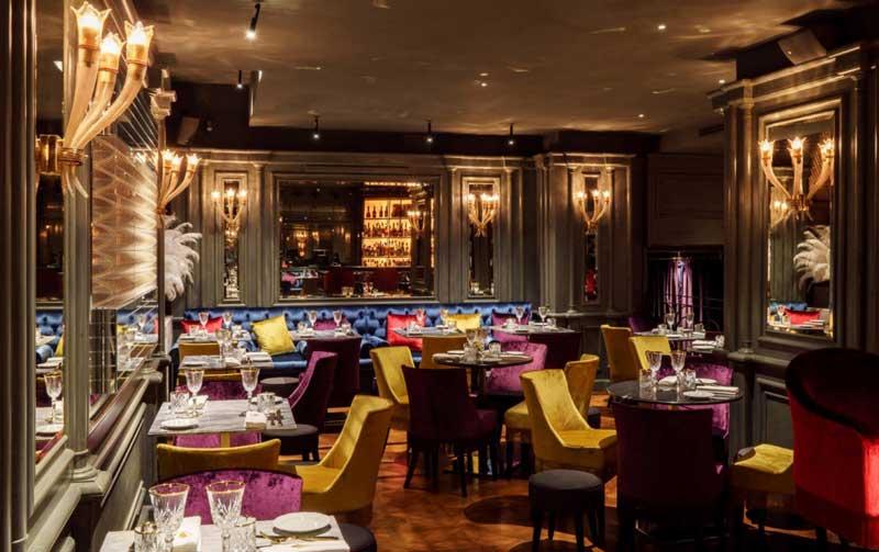 Costa group progetta e realizza il valentyne restaurant di for Arredamento ristoranti roma