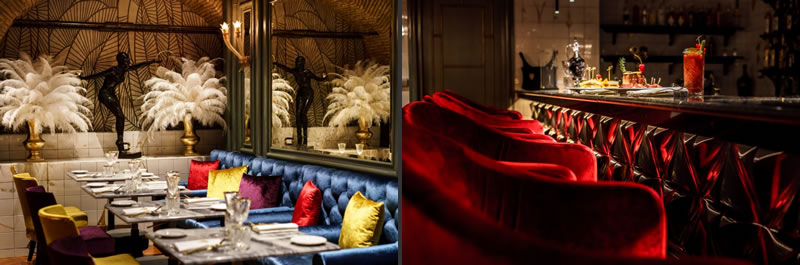 Progettazione arredamento ristoranti Costa Group Valentyne Restaurant Roma