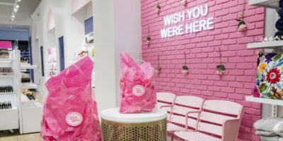 UXUS designs new beauty boutique Riley Rose in the USA