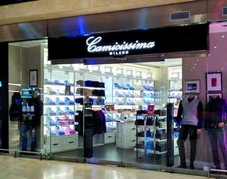 Travel retail: nuovi negozi Camicissima nelle stazioni italiane