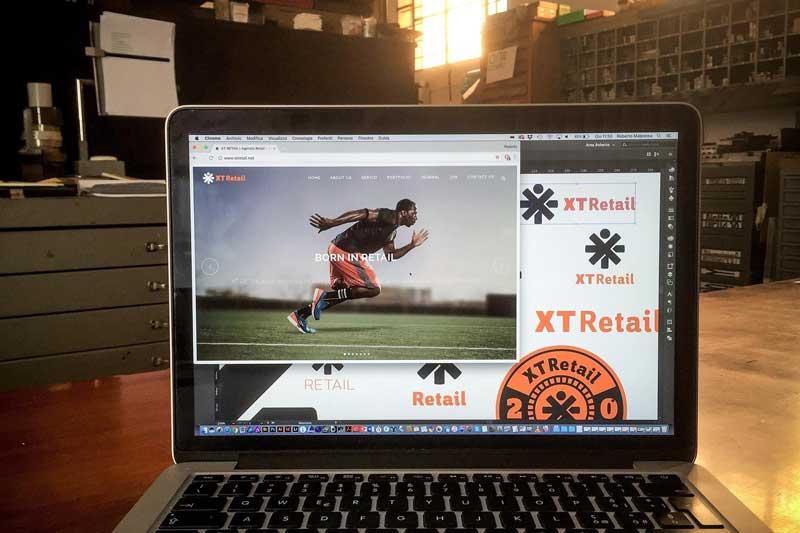 XT Retail nuovo logo nuovo web site