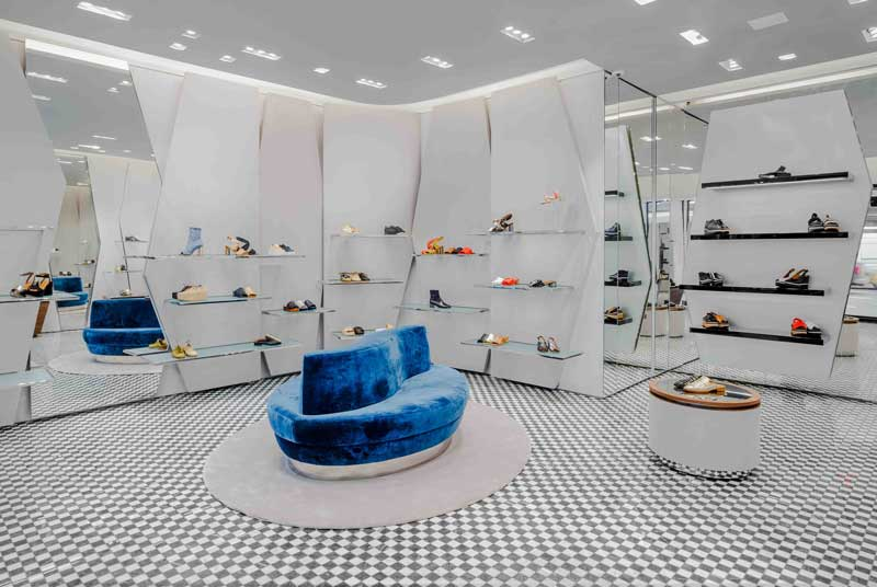 Clergerie flagship store New York Madison Avenue