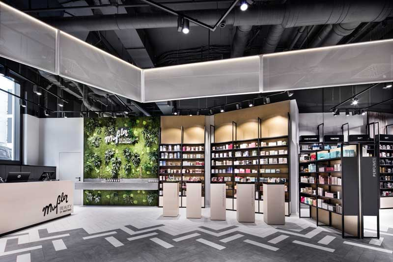 DIA Dittel Architekten designs the first flagship store for Musler Beauty by Notino in Stuttgart