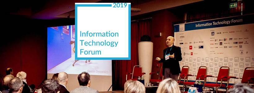 INFORMATION TECHNOLOGY FORUM 2018 conferma le aspettative e registra un risultato in crescita.