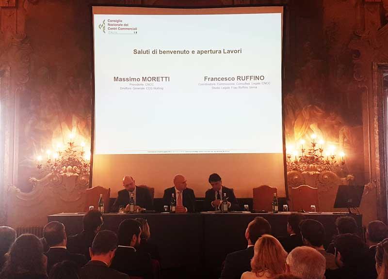 Legal Forum CNCC evoluzione degli spazi commerciali