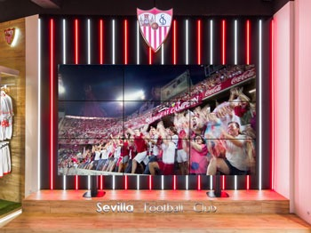 Sevilla Football Club new official store by Marketing-Jazz