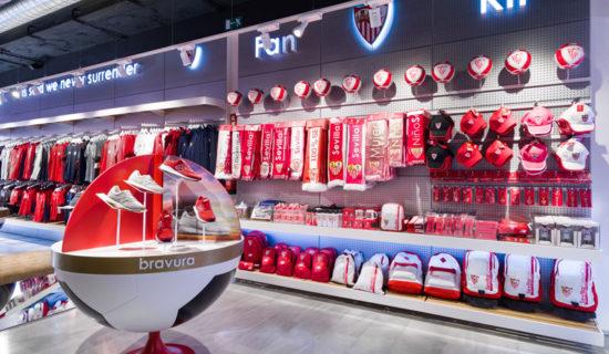 Lo Studio di architettura Marketing Jazz progetta il Siviglia Footbal Club official store