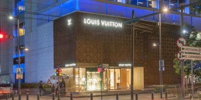 Materia, architectural design for Louis Vuitton in Mexico City.
