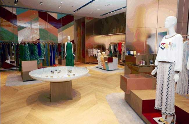 Missoni boutique Dubai Mall