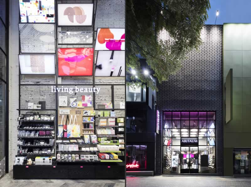 store design dalziel and pow aritaum retail concept