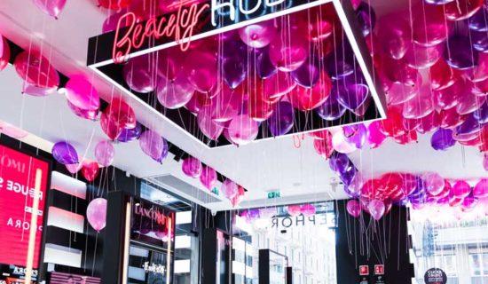 Sephora rinnova con il format New Sephora Experience gli store di Palermo e Torino.