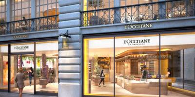 Uxus designs L'Occitane Flagship Store on Regent Street.