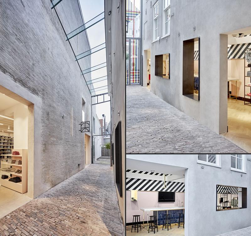 VEVS DESIGN retail concept De Rode Winkel Utrecht