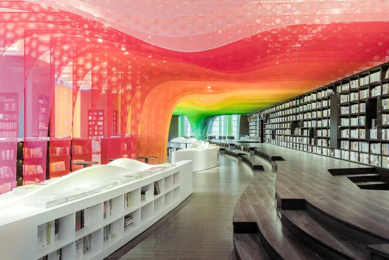 Wutopia Lab progetto Libreria Zhongshu Suzhou Cina