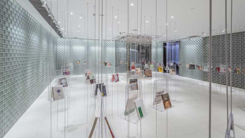 Zhongshu bookstore design Yu Ting