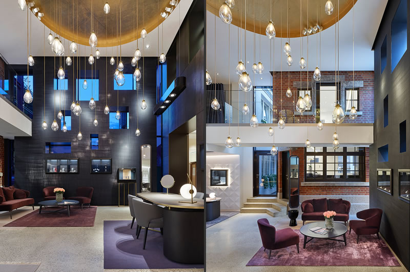Ippolito Fleitz Group designed Hunke Jeweller and Optician Shop