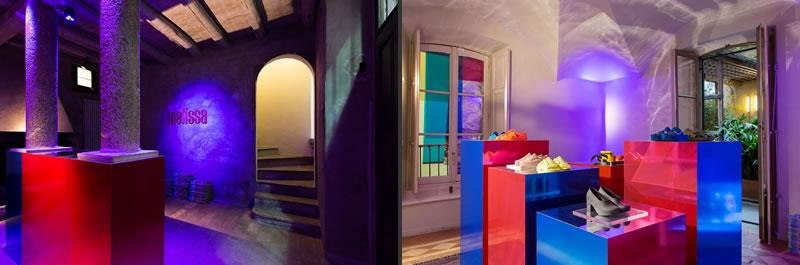 Melissa installazione immersiva brera design district