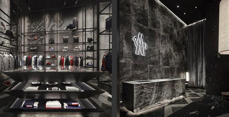 Moncler boutique monomarca Dubai