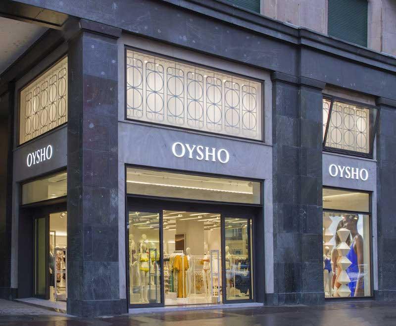 Oysho flagship store Milano San Babila