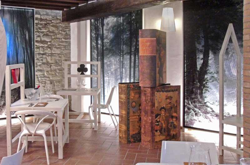 Studio Gariselli progetto Enoteca Nel Bosco