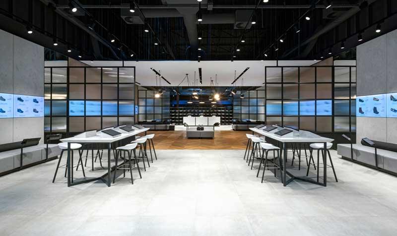 Dalziel and Pow designed eobuwie.pl concept store
