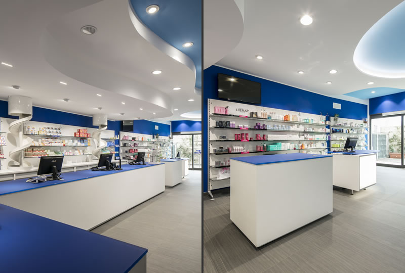 La farmacia blasi sceglie th kohl an shopfitting magazine for Arredo farmacie kohl