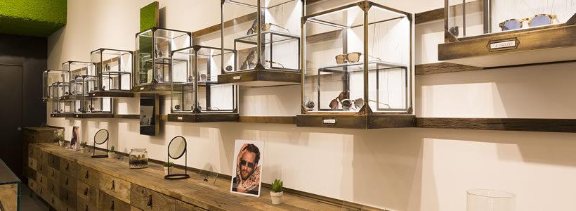 DAVID MARC Eyewear Flagship Store, Rome.
