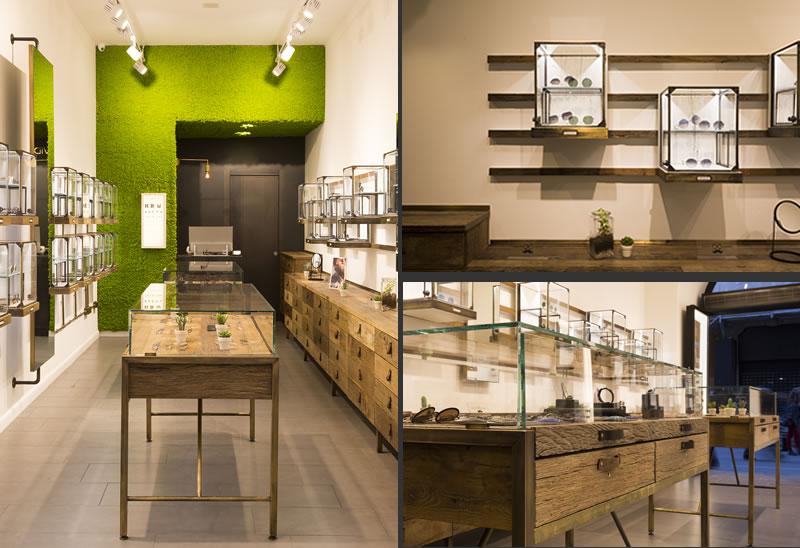 Francesco Zarbano progetta il flagship store David Marc Eyewear Roma