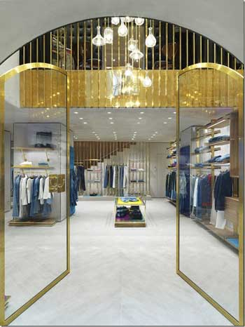 Jacob Cohen boutique Milano via Spiga