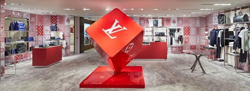 LOUIS VUITTON: il pop-up-store in Rinascente cambia veste.