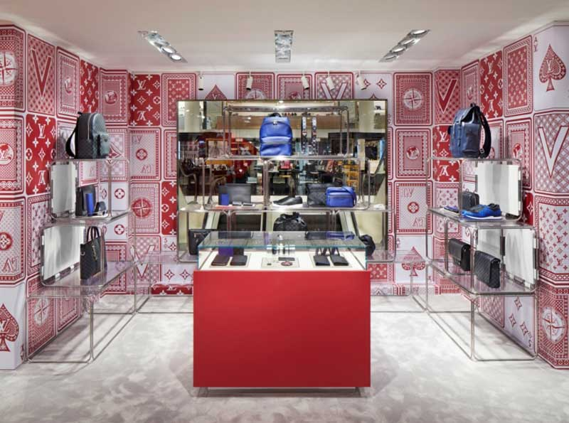 Louis Vuitton pop-up-store Rinascente Milano cambia veste