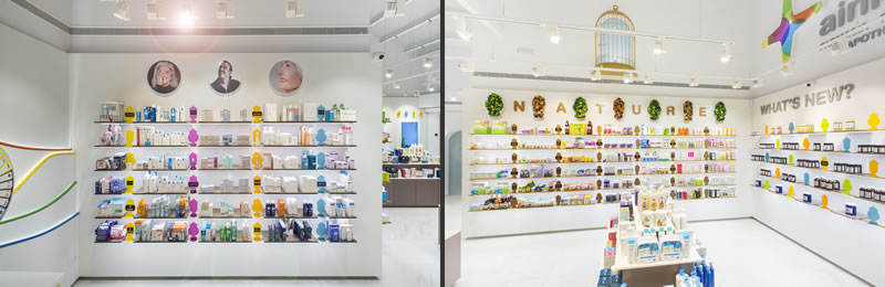progetto farmacia Ainhoa Studio Marketing Jazz