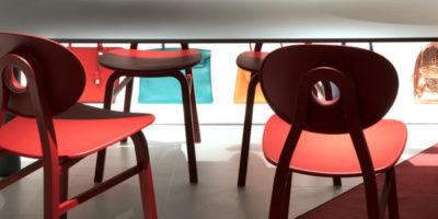 Sedia Elipse di ZANOTTA design Patrick Jouin.