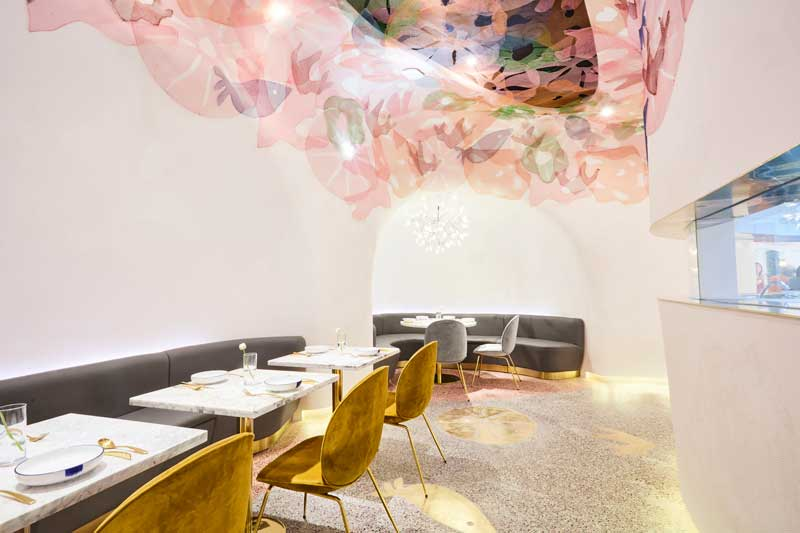 Soda Architects interior design ristorante Blufish Pechino