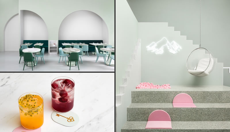 studio Biasol progetto Budapest Cafe Chengdu Cina