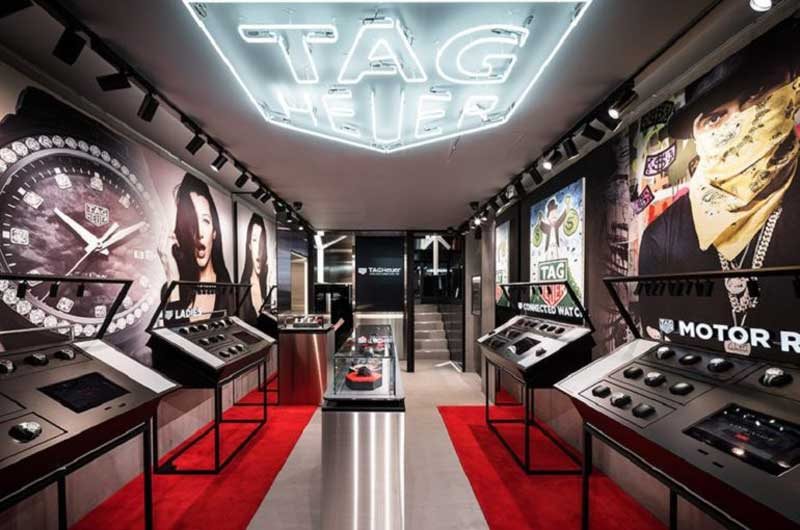 TAG Heuer opens first-ever modular store in Tokyo