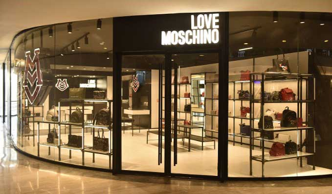 Love Moschino boutique Mumbai India