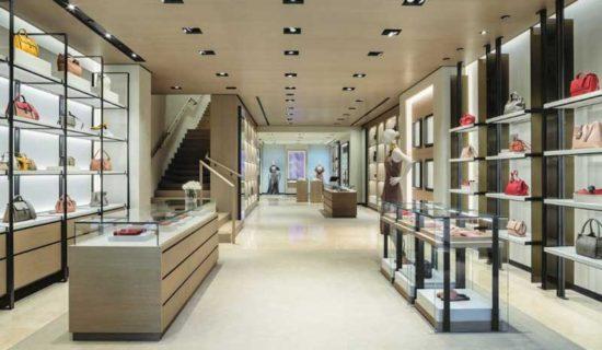 BOTTEGA VENETA inaugura una boutique nel centro di Madrid.