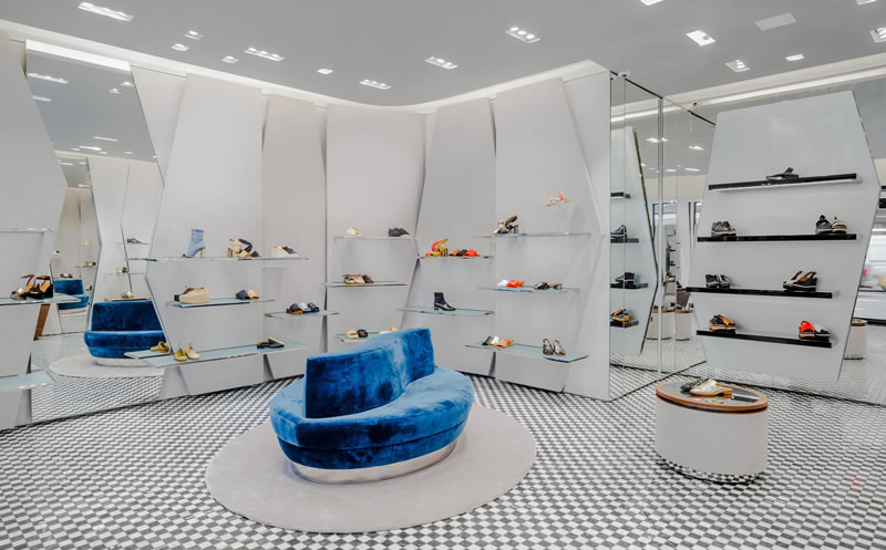 Boutique Clergerie Parigi New York retail design Vudafieri Saverino Partners