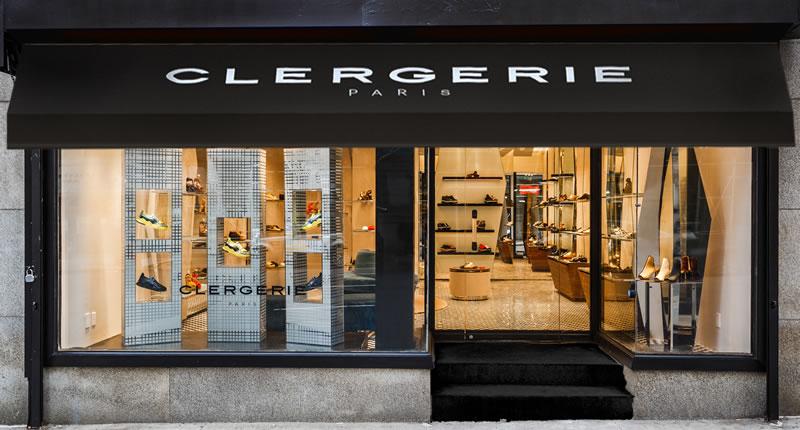 Boutique Clergerie Parigi New York retail design Vudafieri Saverino Partners