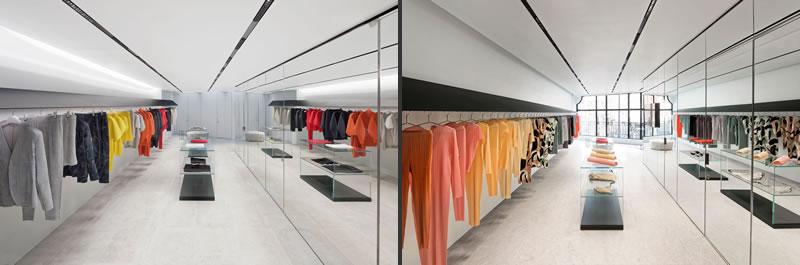 issey miyake boutique londra mayfair retail design Tokujin Yoshioka