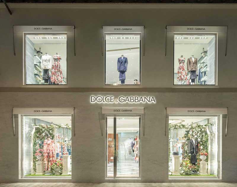 Dolce Gabbana boutique Forte dei Marmi