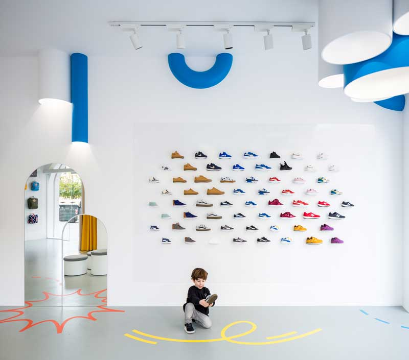 retail design concept store little stories valencia
