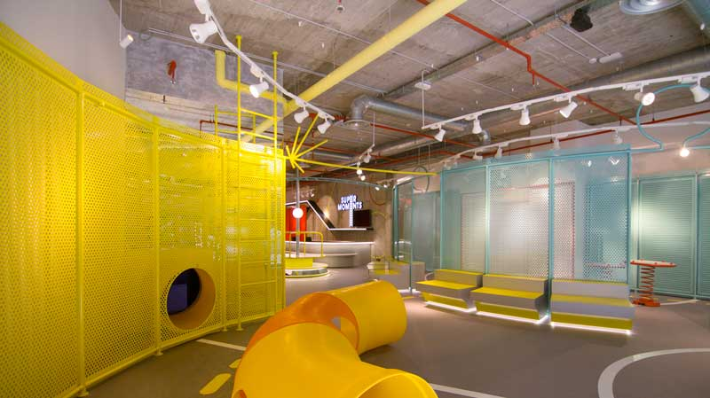 CULDESAC designs SUPERMOMENTS childrens retail space