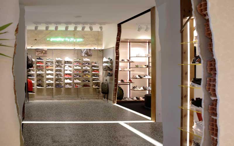 CuldeSac progetto negozio Legit sneakers Valencia