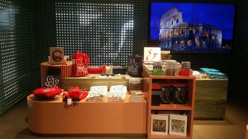 Libreria e information point del Parco Archeologico del Colosseo